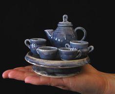 Mini tea set.