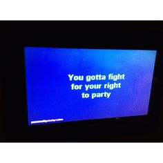 This is what karaoke was made for