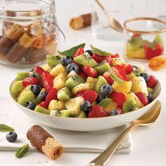 Salade de fruits - Desserts - Recettes 5-15 - Recettes express 5/15 - Pratico Pratique