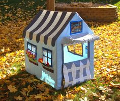fabric playhouse!