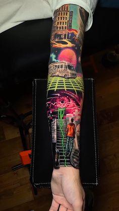Half Sleeve Tattoos Forearm, Cool Forearm Tattoos, Best Sleeve Tattoos, Dope Tattoos, Badass Tattoos, Tattoo Sleeve Designs, Leg Tattoos, Body Art Tattoos, Tattoos For Guys