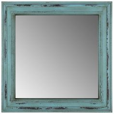 Get Square Vintage Turquoise Mirror online or find other Wall Mirrors products from HobbyLobby.com