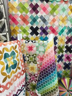 Vanessa Christenson of V and CO Ombre Quilts at Modern Domestic ... : ombre quilting fabric - Adamdwight.com