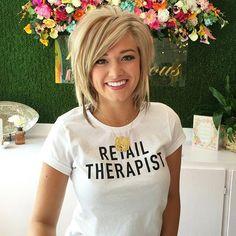 Retail Therapist Tee | via Whitney Rife