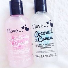 I love this range of beauty products, it says it in the name!! and they smell amazing!!