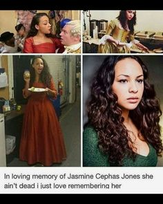 Jasmine Cephas Jones is a queen. God bless.