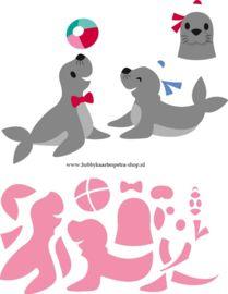 Collectables COL1423 Eline's Seals / Zeehond