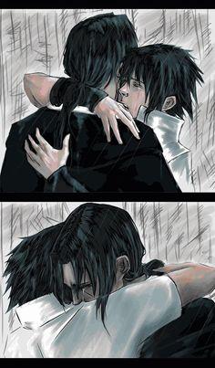 Reunion by radfel | i so love (reunion) pictures of itachi and sasuke #itachi #sasuke #uchiha