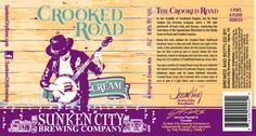 mybeerbuzz.com - Bringing Good Beers & Good People Together...: Sunken City Brewing - Crooked Road Cream Ale