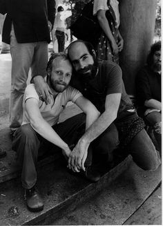 Tim Greathouse and Howie Getman | 1974 Boston Gay Pride Parade