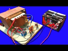 How to make Circuit automatic off when battery  full charger with 15A from UPS DC 12v - YouTube
