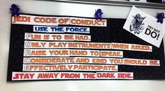 8 Star Wars Bulletin Boards That Are Out of This World Best Star Wars Bulletin Boards for the Classroom – WeAreTeachers Star Wars Classroom, 3rd Grade Classroom, Music Classroom, Science Classroom, Future Classroom, Teaching Music, Teaching Science, Teaching Reading, Learning