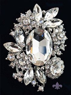 Rhinestone Brooch Pin.....