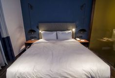 Bed at Metropol Palace. Inviting you to rest!