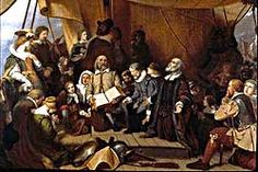 My Grand Uncle Governor Edward Winslow (another ancestor) Pilgrim on the Mayflower was a signer of the Mayflower Compact.