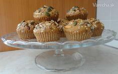 Zdravé muffiny so semiačkami - recept | Varecha.sk Food And Drink, Drinks, Breakfast, Desserts, Drinking, Morning Coffee, Beverages, Deserts, Drink