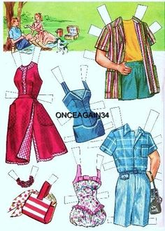 It's A Date Paper Doll - Whitman Publishing Co.,1956: Page 18 (of 18)