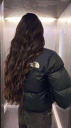 Dark Hair, Brown Hair, Hair Inspo, Hair Inspiration, Mode Poster, Aesthetic Hair, Beautiful Long Hair, Dream Hair, Hair Looks