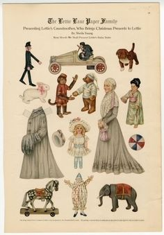 75.2746: The Lettie Lane Paper Family: Presenting Lettie's Grandmother | paper doll | Paper Dolls | Dolls | Online Collections | The Strong
