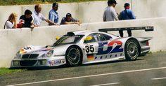 1998 Mercedes-Benz CLK-GTR LM  Mercedes-Benz (6.000 cc.) (A)  Bernd Schneider  Klaus Ludwig  Mark Webber