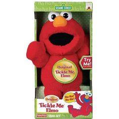 The Original Tickle Me Elmo Sesame Street http://www.amazon.com/dp/B002VNKCMA/ref=cm_sw_r_pi_dp_m7KXwb1G5V93C