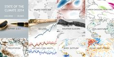 For State of the Climate in 2014 maps, images and highlights, visit Climate.gov. (Credit: NOAA).