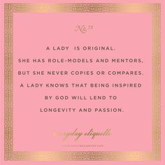 Everyday Etiquette // Emily McCarthy How to be a lady Southern Belle Secrets, Southern Charm, Southern Hospitality, Southern Living, Southern Comfort, Vintage Modern, Mode Vintage, Lady Rules, Etiquette And Manners