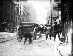 Vintage Photographs of Toronto Snow Storms that took place over the years including some of the aftermaths and how the city dealt with the snow. Toronto Snow, Toronto Winter, Toronto Ontario Canada, Queen Street Toronto, Toronto Pictures, Canadian Things, Canadian History, Quebec City, Vintage Photographs