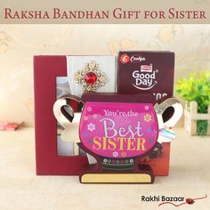 Sisters do so much for their brothers on now it's time for the brother to make them feel extremely special and delighted. Surprise your adorable sister with a special token of your love like a Raksha Bandhan Gift for Sister from Rakhi Gifts For Sister, Sister Gifts, Rakhi Festival, Raksha Bandhan Gifts, Best Sister, You're Awesome, Brother, Sisters, Day