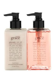 Philosophy Amazing Grace hand wash and hand lotion duo @nordstrom http://rstyle.me/n/upntwpdpe