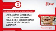 Estamos elaborando un informe que nos permita avanzar en la erradicación de la violencia de género. ¡Ni un paso atrás! #SeguimosTrabajando #PSOE
