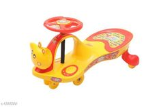 Others Young Wheels DX Twist and Swing Magic Car Ride On for Kids  with sound and light (weight up to 120 kg)   Product Type : Swing Car  Fabric: Plastic  Dimension (LXWXH): 70 cm x 40 cm x 12 cm Description: It Has 1 Piece Of Baby Potty Training Swing Car Country of Origin: India Sizes Available: Free Size *Proof of Safe Delivery! Click to know on Safety Standards of Delivery Partners- https://ltl.sh/y_nZrAV3  Catalog Rating: ★4.1 (3266)  Catalog Name: PEEP PEEP Swing Car CatalogID_1012136 C63-SC1325 Code: 289-6365991-