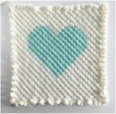 How to Crochet The Heart by Corner to Corner [Free Pattern & Tutorial] | Styles Idea