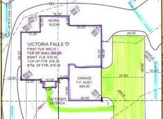 Image result for side entry driveway with turnaround Victoria Falls, Main Street, House Plans, Floor Plans, How To Plan, Image, House Floor Plans, Home Floor Plans, Home Plans