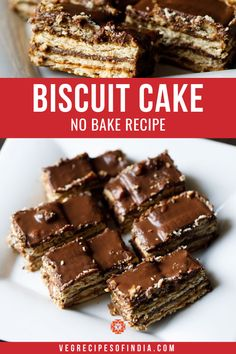 Biscuit cake is one of the easiest and yummy cake one can make. This no bake biscuit cake has chocolate in it and tastes too good. Marie Biscuit Cake, No Bake Biscuit Cake, Biscuit Dessert Recipe, Chocolate Biscuit Cake, Marie Biscuits, No Bake Cake, Biscuit Cookies, Digestive Cookies, Digestive Biscuits