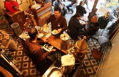 #Traditional #cafe #Istanbul #Turkey #National Geographic Παραδοσιακό καφέ στην Κωνσταντινούπολη Turkish Coffee, National Geographic, Coffee Shop, Istanbul, Food, Coffee Shop Business, Meal, Essen, Hoods