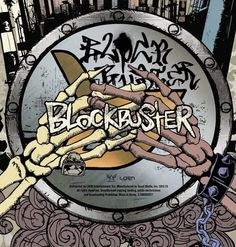 Edna Gamboa. Block B's Blockbuster album. Custom made, hand-lettering, grungy all-caps type. The album is covered in graffiti styled /street art work for an audience who enjoys a more hip-hop, urban style of kpop music. The font type is supposed to portray the edgy, tough vibe that block b tried conveying for this album's pirate concept. I hope to work with some kind of graffiti styled project in the future and mix different styles of hand-lettering.