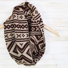 Our *Brown Aztec Scarf* has been marked down! Super thick and cozy! Orig: $14.95…