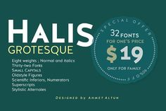 Halis Grotesque-90%off - Sans Serif