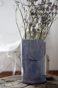 Heute bei mir eine Vase! | Foto von Mitglied Sigi H.ome #vase #diy #handicraft #keramik #SoLebIch #ceramics