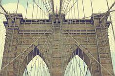 """Brooklyn Bridge"" by audreyhepburncomplex via @ Ellen Urton"
