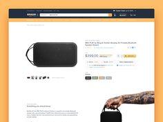 amazon redesign by Sebastian Stapelfeldt #Design Popular #Dribbble #shots