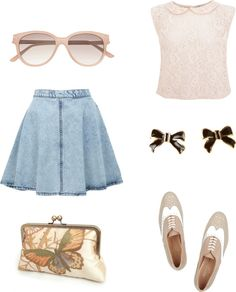 """Pretty in Pink"" by gleekygeek on Polyvore"
