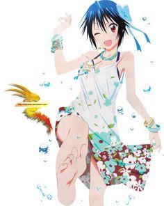 Tsugumi flowerdress render by sharknex on DeviantArt