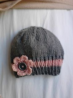 Ravelry: Easy and Basic Baby Hat pattern by Christy Hills