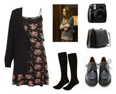 """""""Violet Harmon"""" by jadesy ❤ liked on Polyvore featuring Topshop, River Island, Sixtyseven, Zara and Fujifilm"""