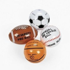 Fun Express Mini Assorted Inflatable Sports Balls  12 Pieces -- To view further for this item, visit the image link.Note:It is affiliate link to Amazon.