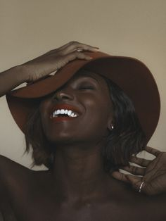 pinkcookiedimples:  cap-kira:  avedior:  goddessdiastema:  lustt-and-luxury:  brinasosa:  That skin tho   ^ for real though  The skin, the teeth gawwwd  perfect.  The lipstick and the hat! Everything!  Still don't understand why magazines want to alter such glory
