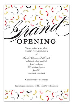 trendy opening by invitation consultants grand opening banner grand opening invitations corporate