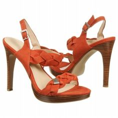 Add a punch of color to your nighttime looks with gorgeous coral heels!